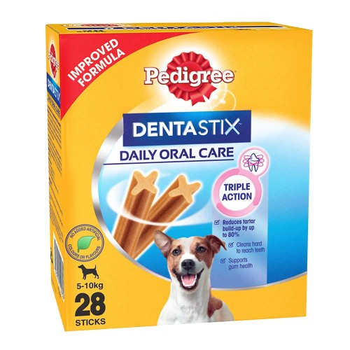 Pedigree Dentastix Small Breed Care and Dog Treat Chew Sticks