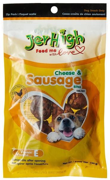 JerHigh Cheese and Sausage Dog Treats